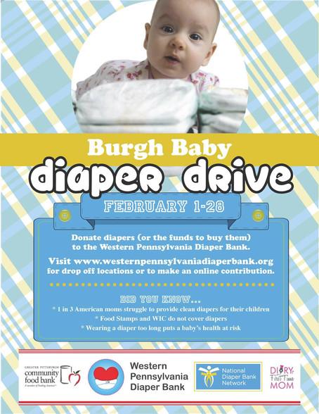 #BurghBaby Diaper Drive