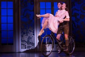 """""""Sixteen Going on Seventeen""""Photo: Matthew MurphyDan Tracy as 'Rolf Gruber' and Paige Silvester as 'Liesl'"""