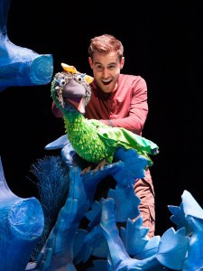 Production photographs for Room on The Broom,KW & NB Ltd, October 2014