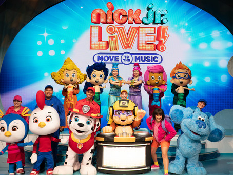 "Review: NICK JR. LIVE! ""MOVE TO THE MUSIC"""