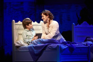 Aidan Gemma and Laura Michelle Kelly of the Original Broadway Cast.  Photo by Carol Rosegg
