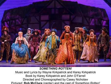 SOMETHING ROTTEN! is coming to Pittsburgh