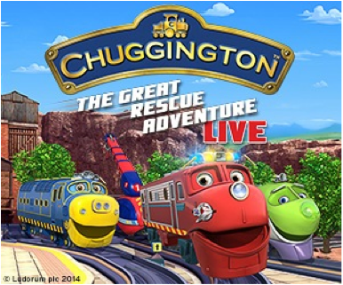 Giveaway: Family 4 pack to Chuggington Live!