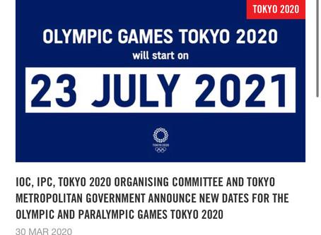 """Ολυμπιακοί αγώνες """"TOKYO 2020"""""""