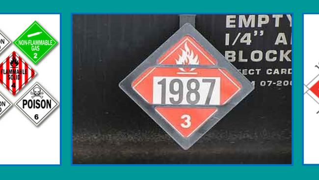 Understanding Railroad Placards