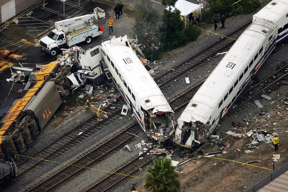 Passenger Train Wreck - Intercity Rail