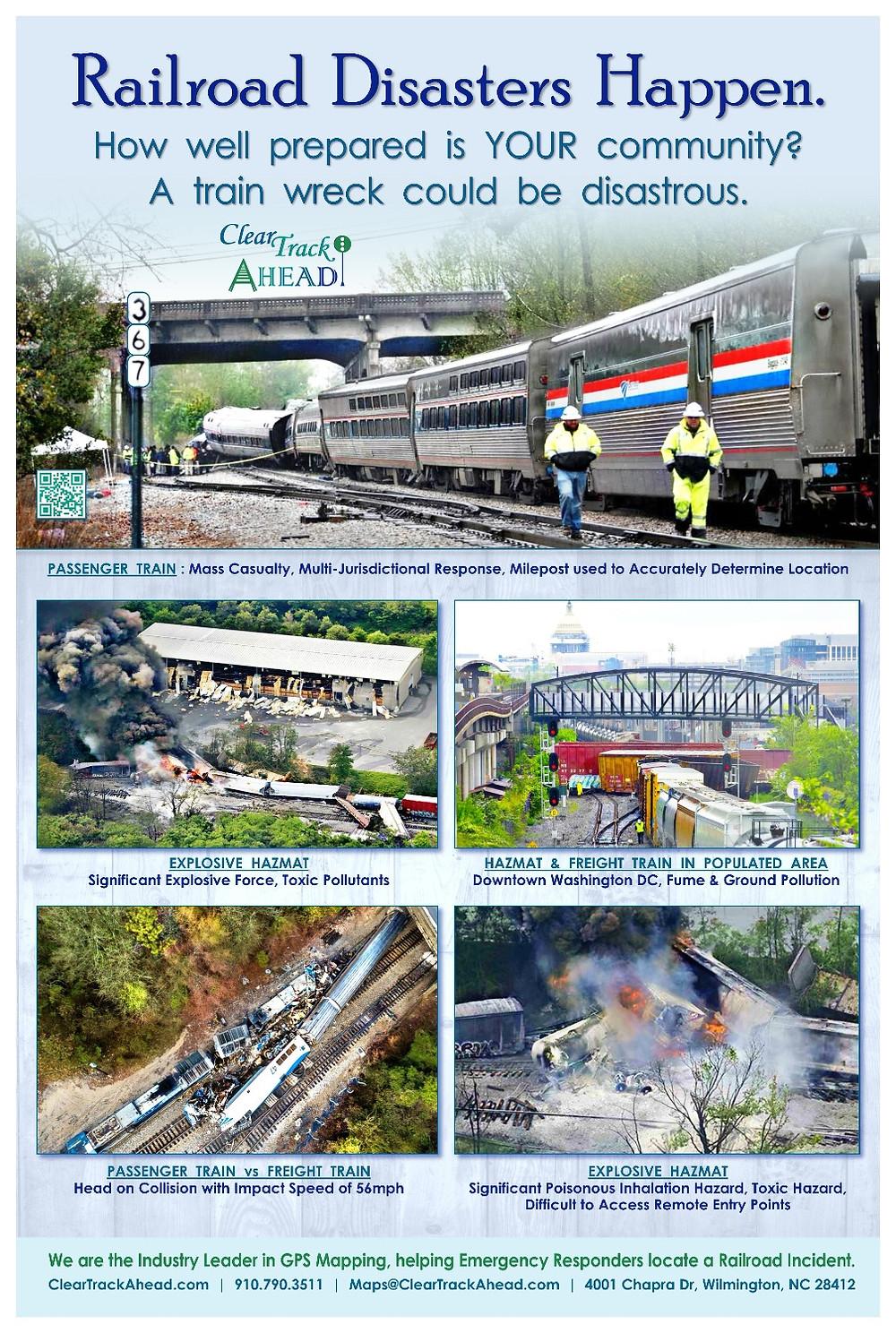 Photos of Various Train Wrecks