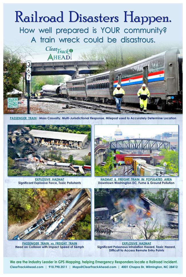 Railroad Disasters Happen.
