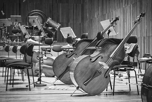 Musikinstrumente im Orchester