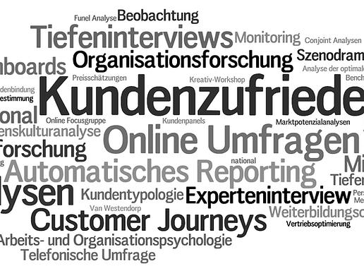 Wordcloud Marktforschungs-Angebote wissma