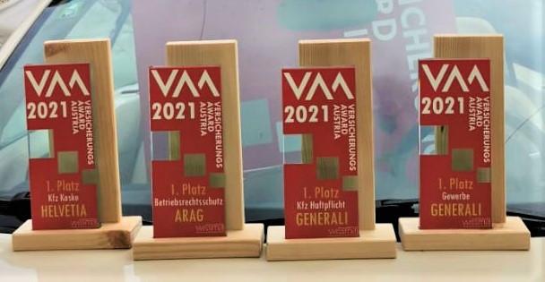 """Die Preisträger der VAA-Kategorie """"Gewerbe"""""""