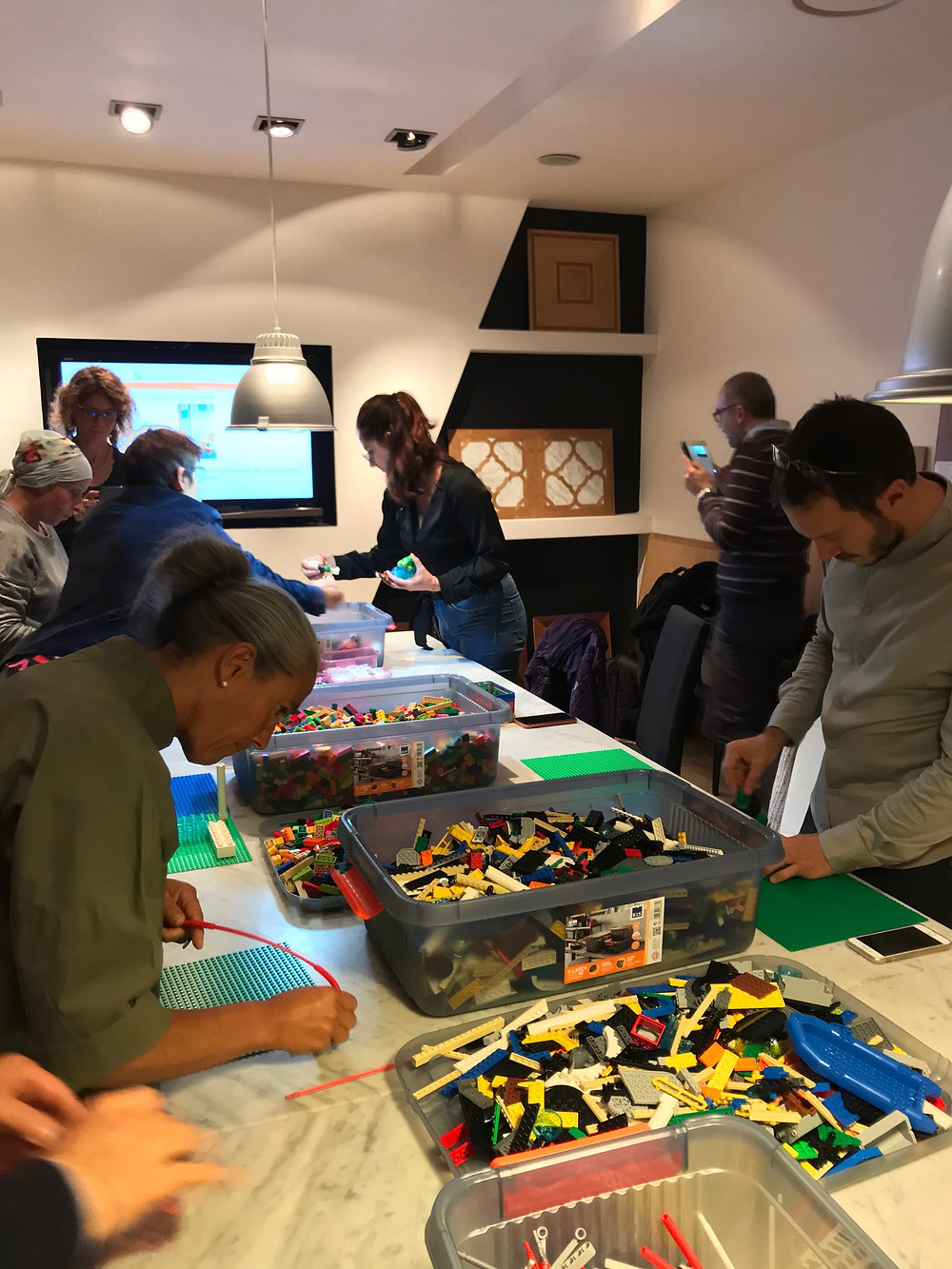 Workshop con la metodologia Lego® Serious Play® presso HUB02 Milano