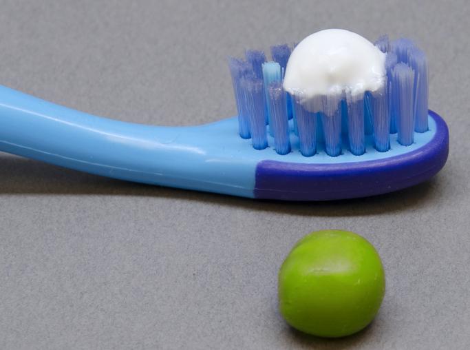 Toothpaste Pea Size