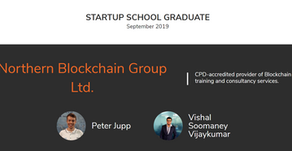 We've Graduated! Northern Blockchain Group Graduates from Y Combinator Startup School 2019
