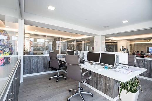 espace open space pour entreprise aménag