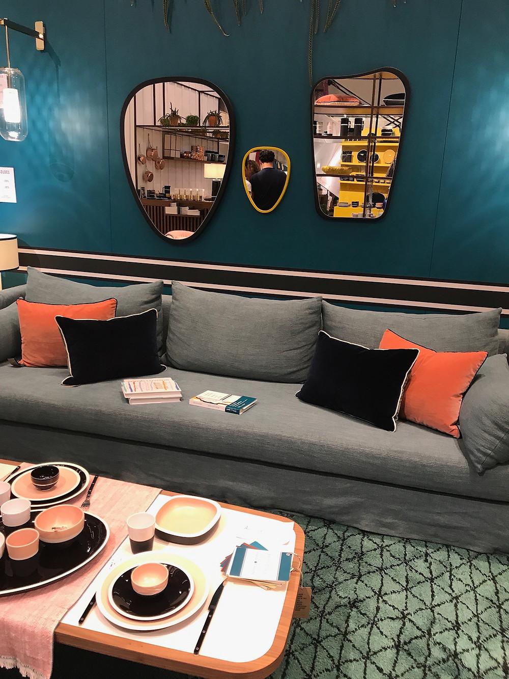 Aménagement d'un salon par Sarah Lavoine à Paris