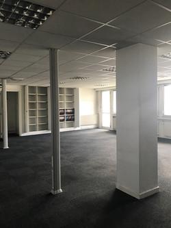 bureaux en plateau avant aménagement par