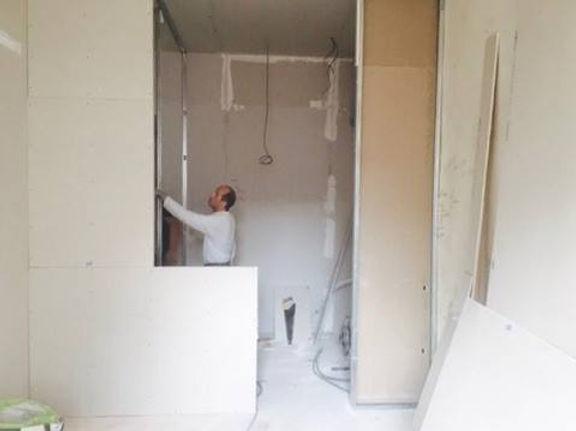 chantier de renovation a lyon sur un plateau de renovation d'appartement a lyon