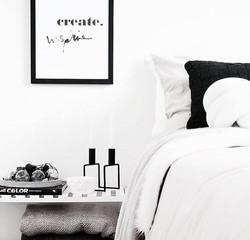 inspiration interieur monochrome noir et blanc