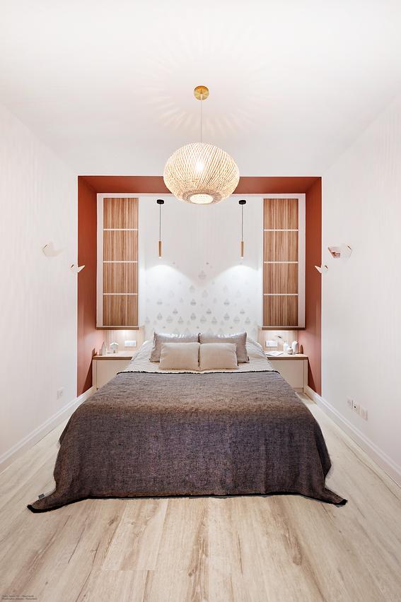 rénovation d'une petite chambre à lyon, tiffany fayolel architecte d'intérieur et décoratr