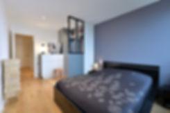 room floor bed frame interior design Tif