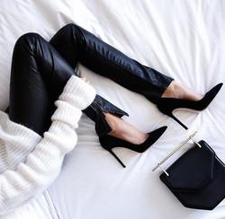 inspiration interieur monochrome talons classe glamour noir et blanc