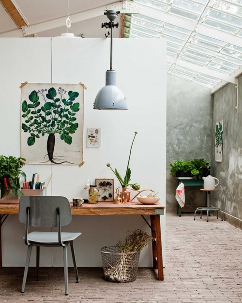 interieur inspiration verdure inspi deco idee suspension industrielle