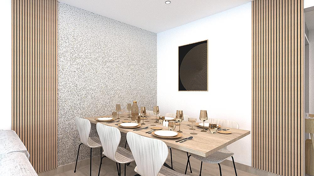 Prestation d'aménagement d'une salle à manger près de Lyon