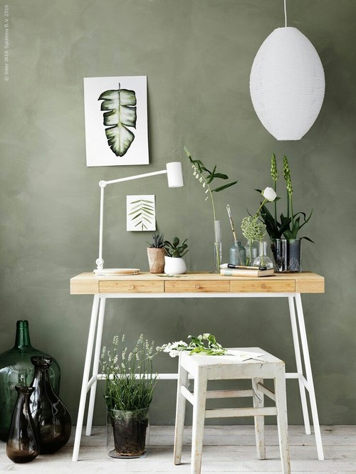 inspiration ambiance idee deco inspi verdure vert