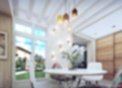 Aménagement d'une salle à manger par Tiffany Fayolle architecte d'intérieur et décorateur à lyon pour TGF décoration tarifs et renseignements sur le site internet de mes projets