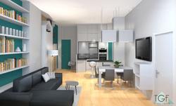 renovation_totale_plateau_a_Lyon,_salon_contemporain_visuel_3d_croquis_Tiffany_Fayolle_architecte_d_