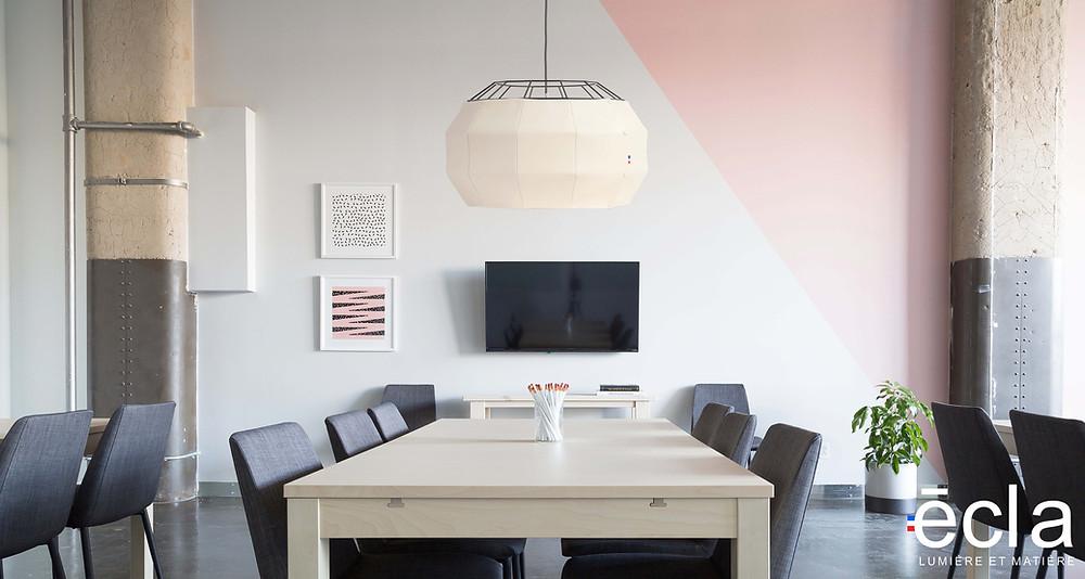 La marque éclat propose des luminaires haut de gamme français fabriqués à partir de matériaux nobles