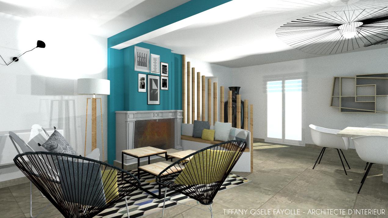 architecte-intérieur-lyon-tiffany-fayolle-tarif-salon-contemporain-tasseaux-bois