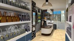 aménagement de commerce a Lyon centre ville par l architecte d intérieur et décorateur Tiffany Fayol