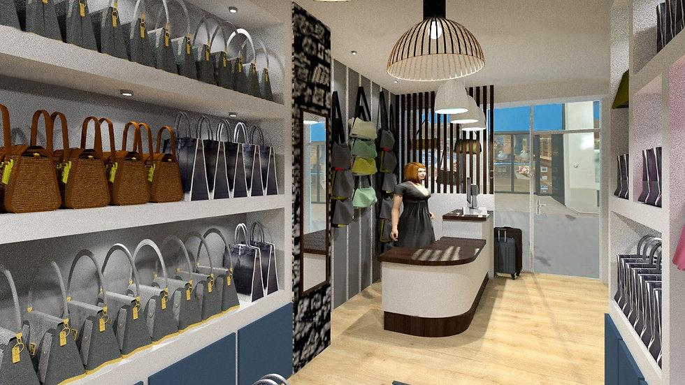 Aménagement de bureaux par Tiffany Fayolle TGF architecte d'intérieur et décorateur à Lyon tarifs et renseignements sur le site internet. agencement commercial, rénovation de commerce, agencement de magasin