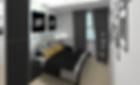 chambre d'adolescant rénovée et décoration dans un style new york graphique à lyon