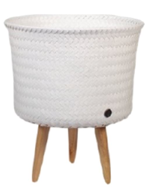 Cache-Pot Blanc 'Le Classique'