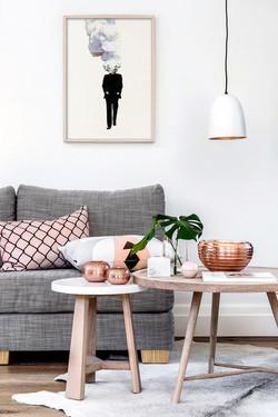 Ambiance_cuivrée_salon_inspiration_décoration_scandinave_motif_graphique