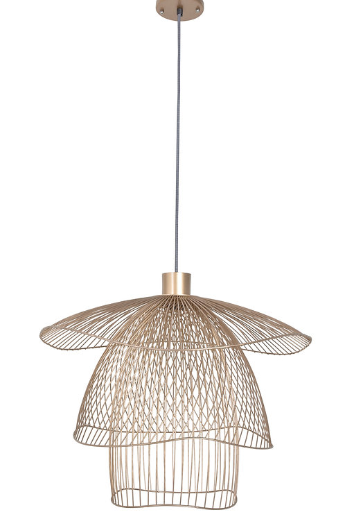 Suspension Papillon Champagne MM Forestier
