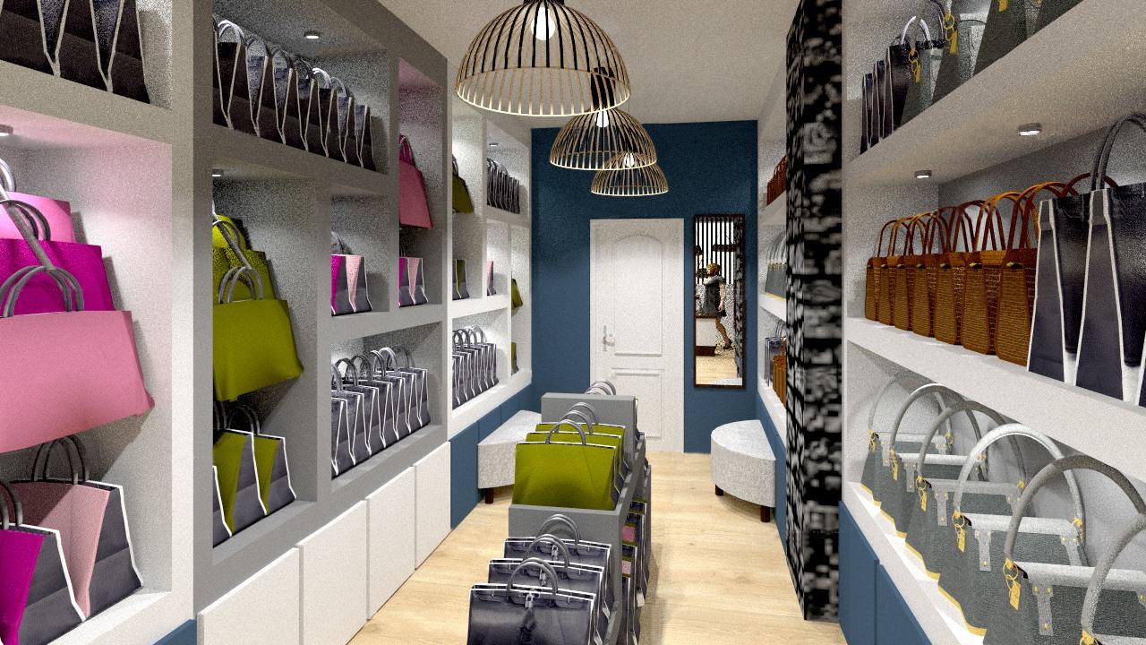 aménagement commercial par Tiffany Fayolle architecte d intérieur et décorateur a Lyon agencement et