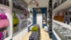 Agencer un magasin tel ue cette rénovation commercial agenement de magasin proposé par tiffany fayolle architecte d'intérieur et décorateur à Lyon . Vous pouvez donc contacter un agenceur décorateur architecte d'intérieur et connaitre les tarifs sur le site internet pour aménager un local commercial à Lyon