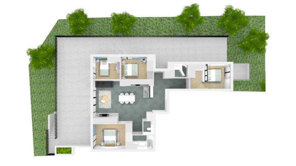 Appartement en 3D pour vente immobilière