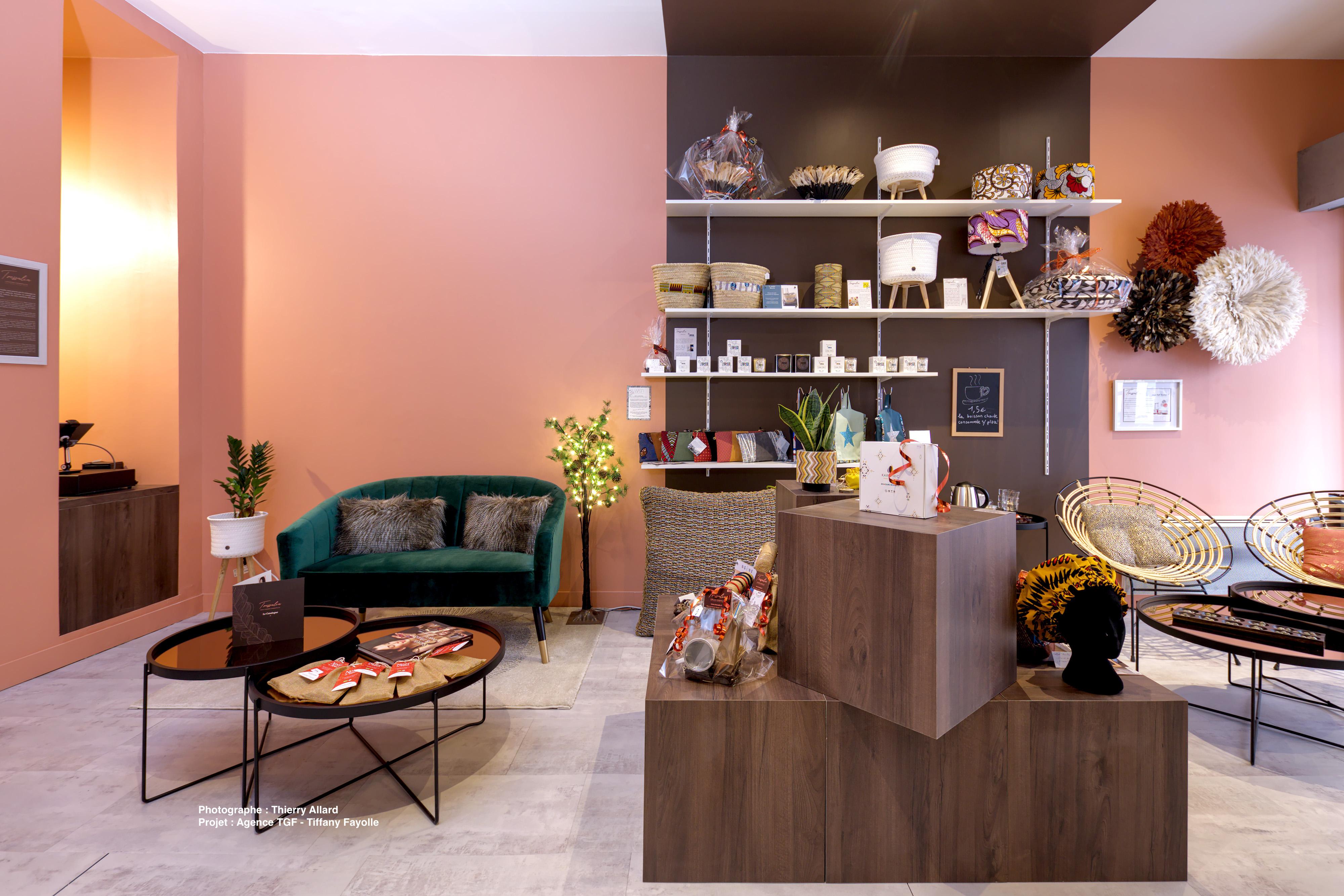 Conception de magasin - TRESSALIA LYON p