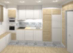 rénovation de cuisine à Lyon,Tiffany Fayolle Architecte d'intérieur, french kitchen decor à Lyon style scandinave