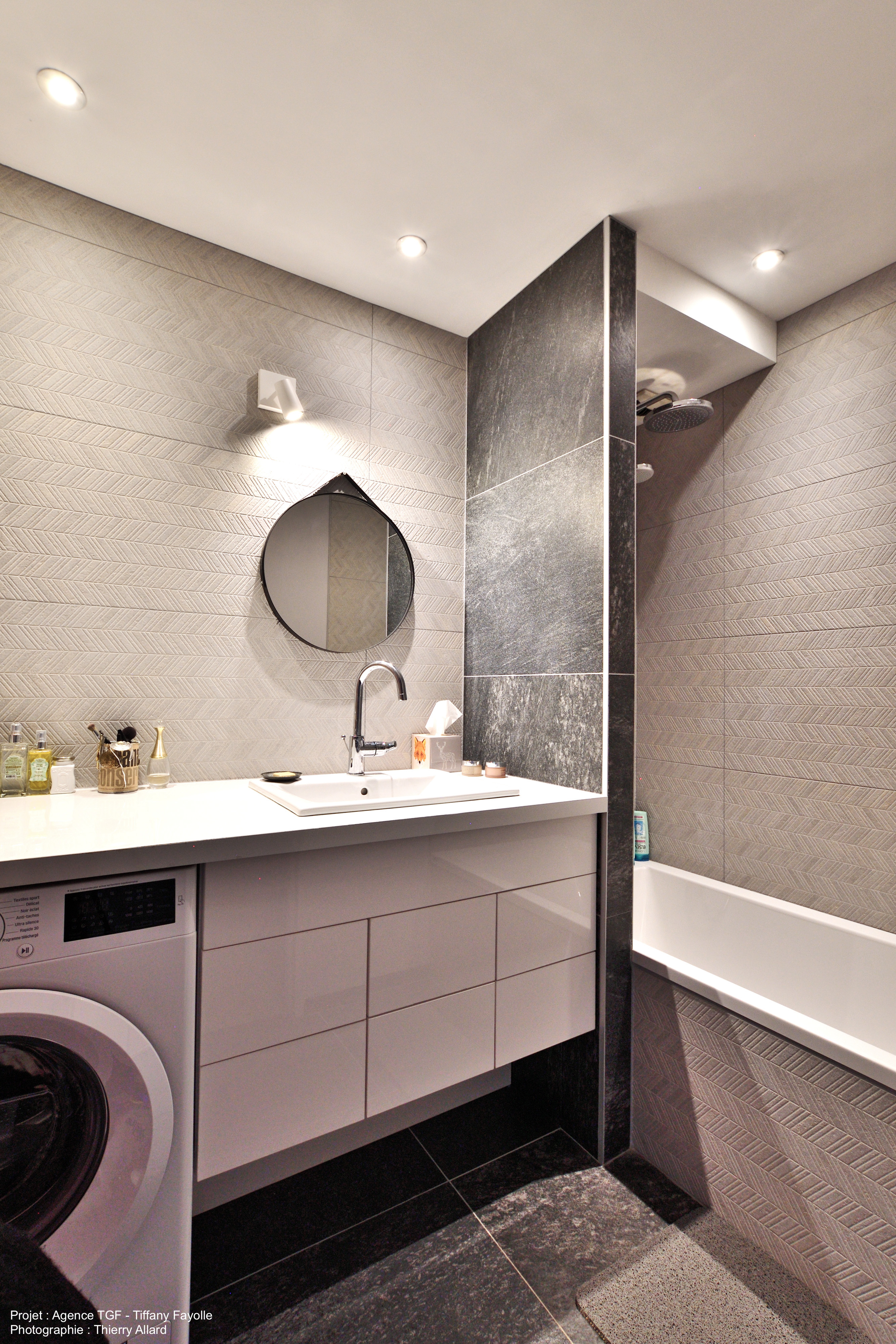 salle de bains rénovée à lyon par l'agen