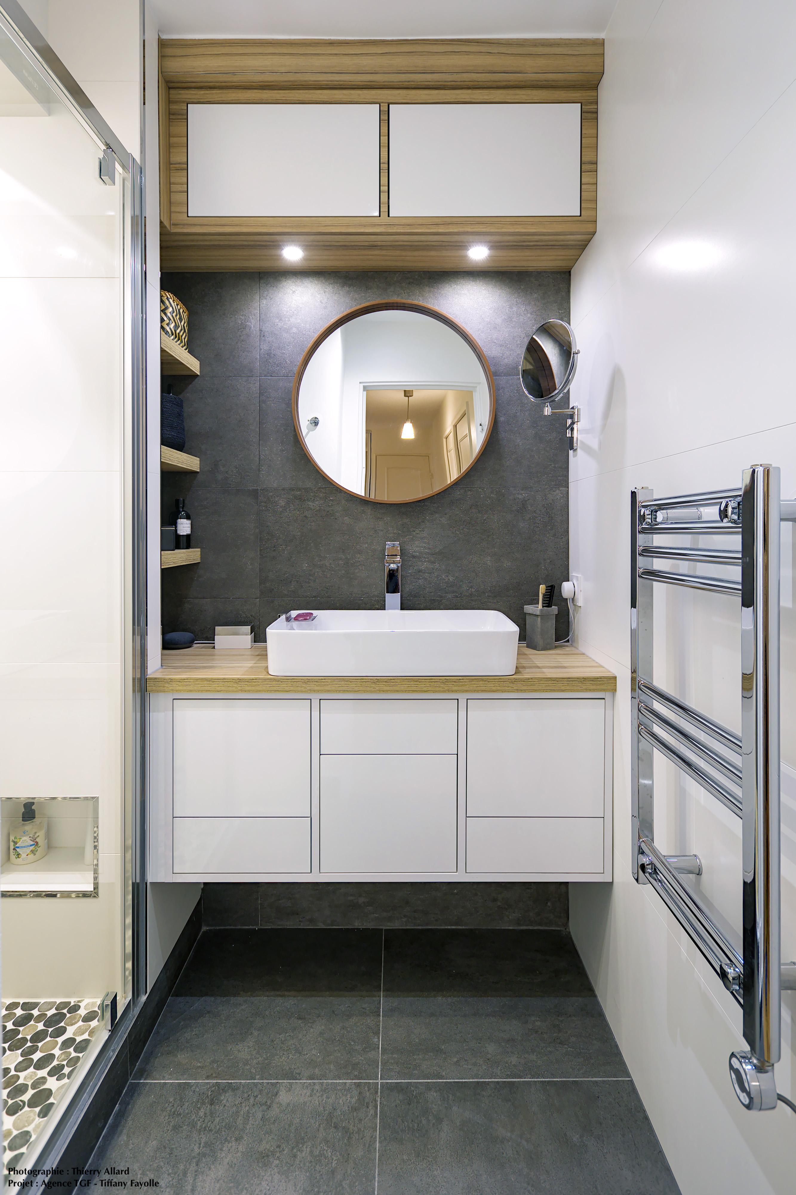 rénovation d'une salle de douche en fini