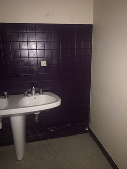 salle de bains avant travaux d' architec