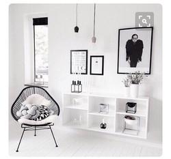 inspiration interieur acapulco fauteuil monochrome noir et blanc