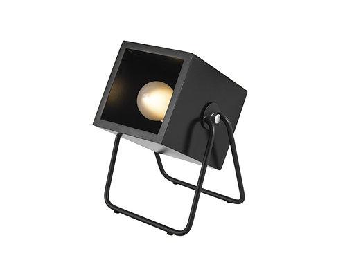 Lampe Cubique Noire