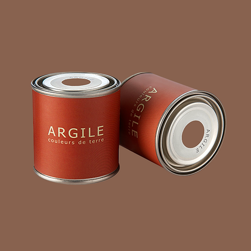 "Peinture ARGILE ""Terre Brûlée"""
